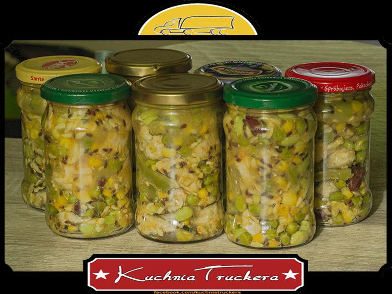 Filet z indyka z warzywami na patelnię i ziarnami